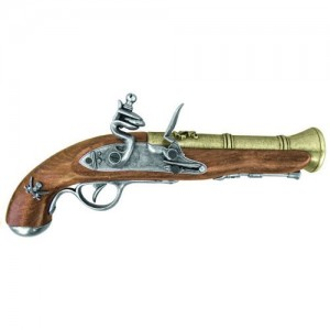 Pirate's Blunderbuss Flintlock Pistol