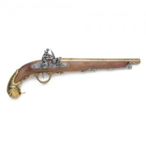 18th Century German Flintlock Pistol