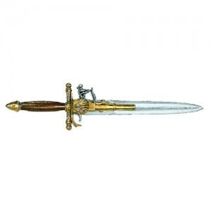 18th Century French Dagger-Pistol