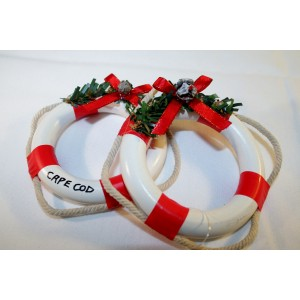 Life Ring Ornament s/3