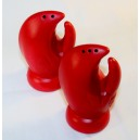 Lobster claw salt & pepper shaker set