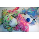 Neon stuffed animals