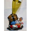 Sailor wine bottle holder