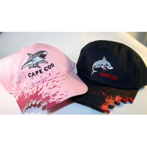 Cape Cod Shark Baseball Hats